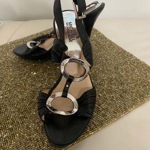 MICHAEL Michael Kors black leather shoes size